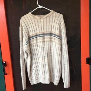 Other - Munsingwear Cardigan Sweater round neck Tan/Blue